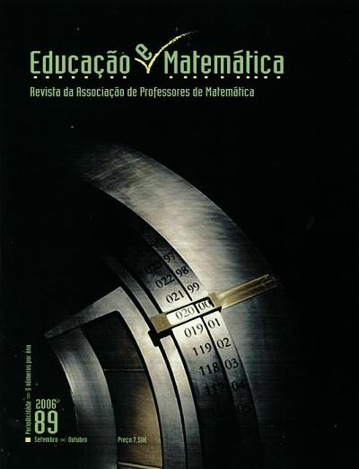 Ver N.º 89 (2006): Matemática e Tempo (Revista temática)